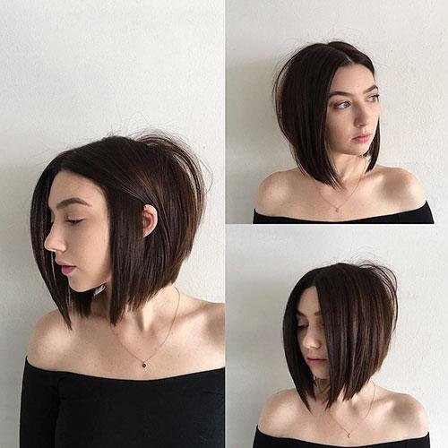 Straight Cut Hair Short
