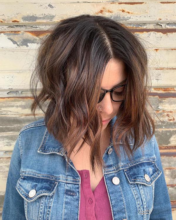 Short Choppy Layered Hair Ideas