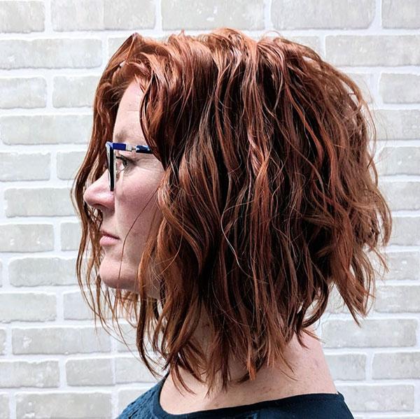 Short Choppy Layered Hair