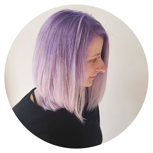 Purple Short Hairstyles