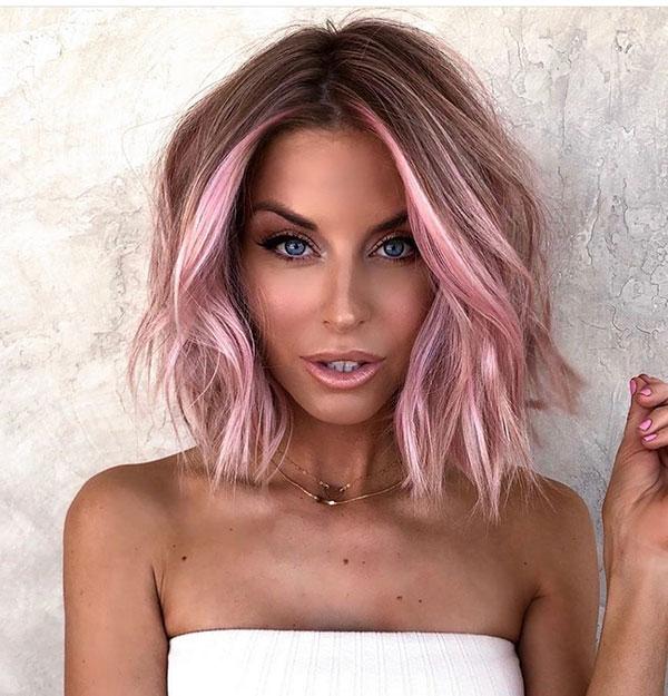Balayage Hair Color On Short Hair