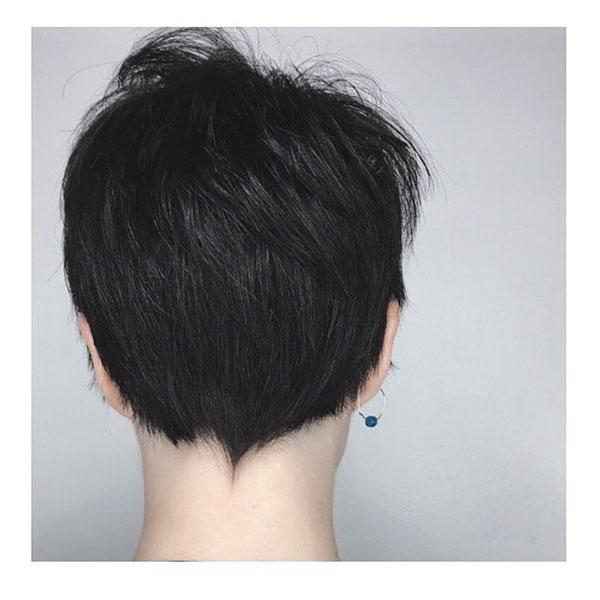 Short Dark Hair 2020