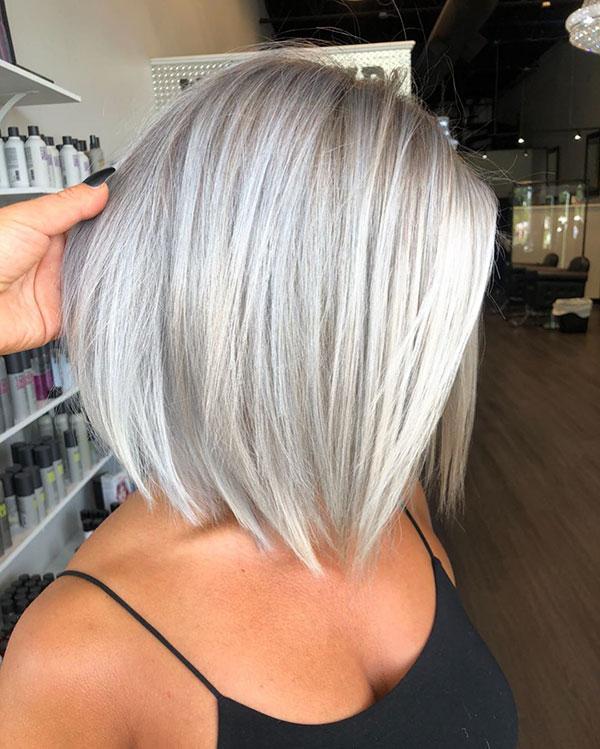 Pictures Of Short Platinum Hair