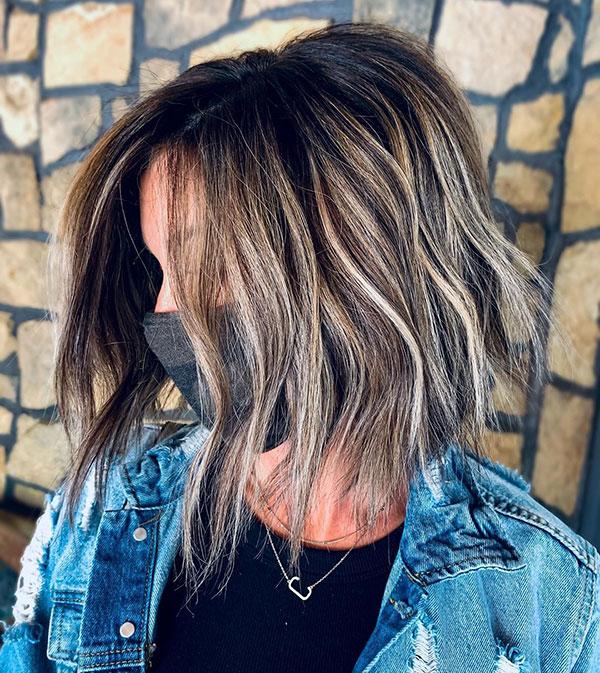 Short Balayage Hair Ideas