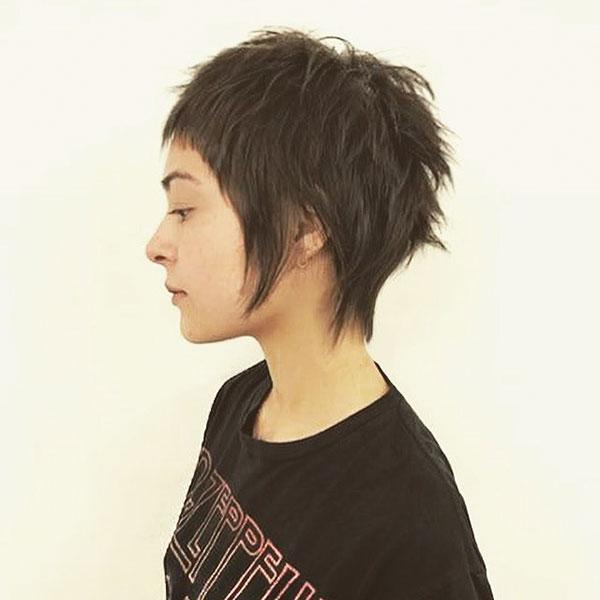 Short Hairstyle Ideas For Dark Hair