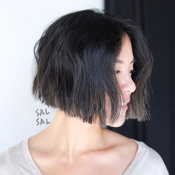 Short Cuts For Dark Hair