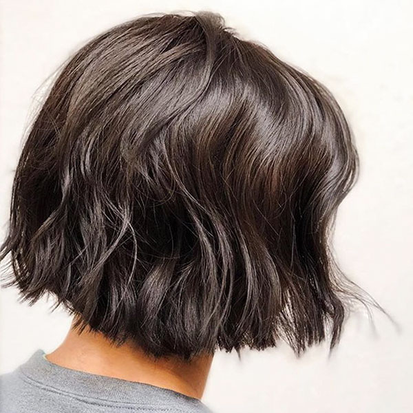 Short Dark Hair Color Ideas