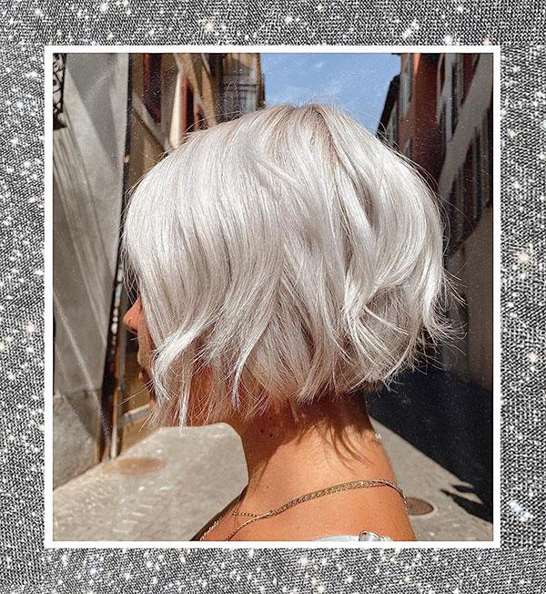 Platinum Hair For Short Hair