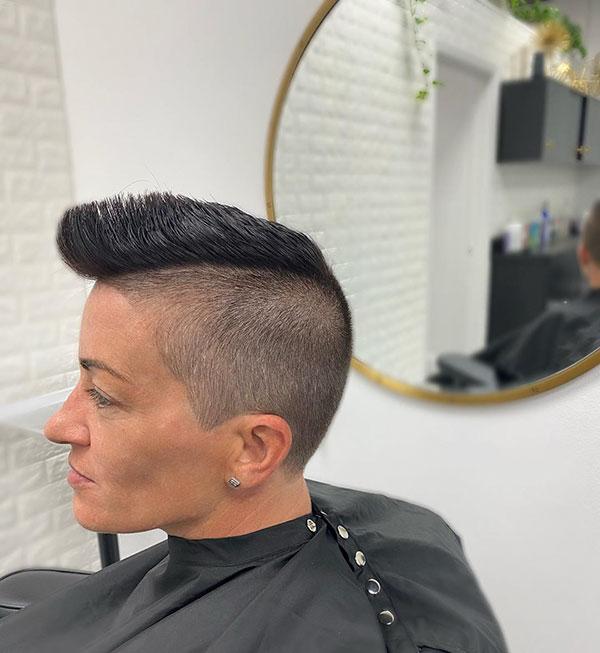 Dark Hair Color Ideas For Short Hair