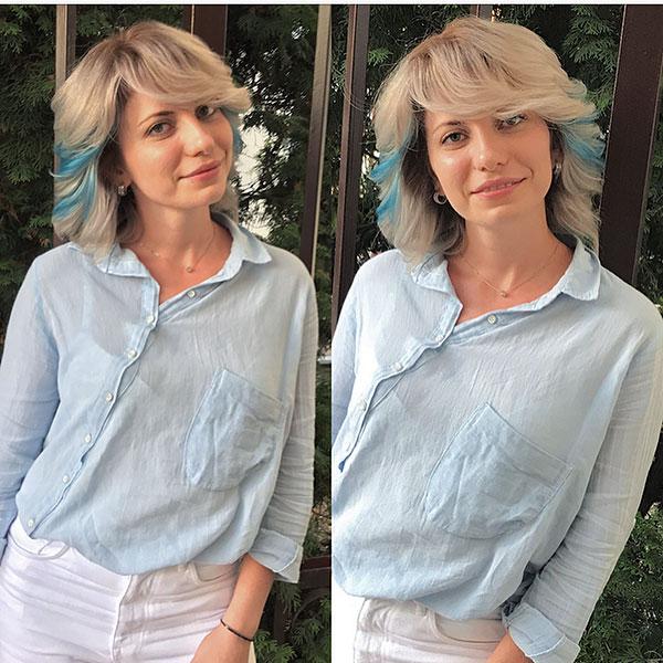 Balayage On Short Hair