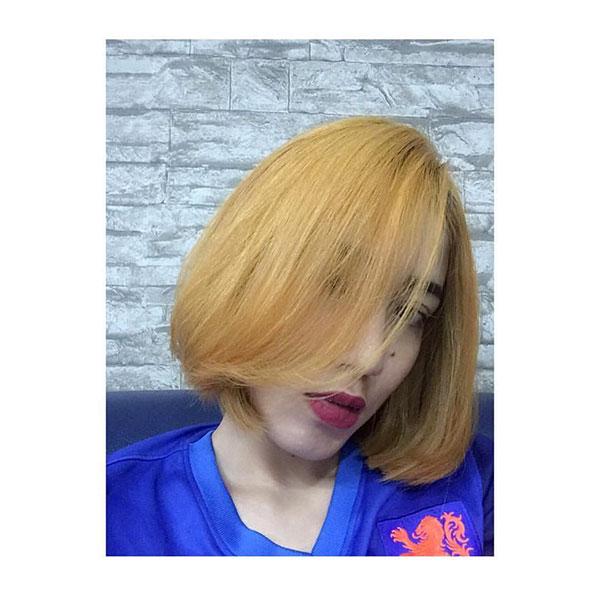 2021 hair trends female short
