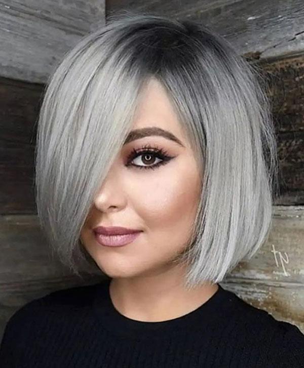 bob cut female