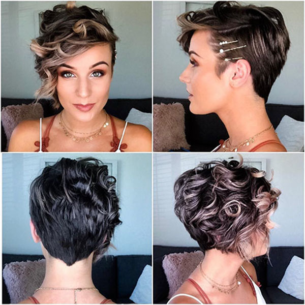 elegant pixie hairstyles