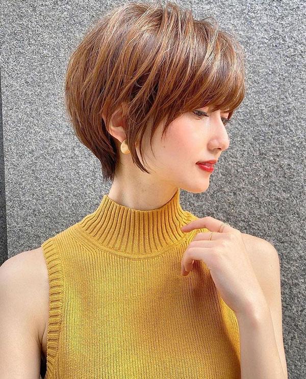 female short haircuts 2021