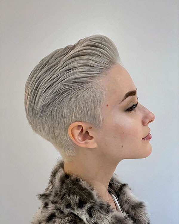 hairstyle for pixie cut hair