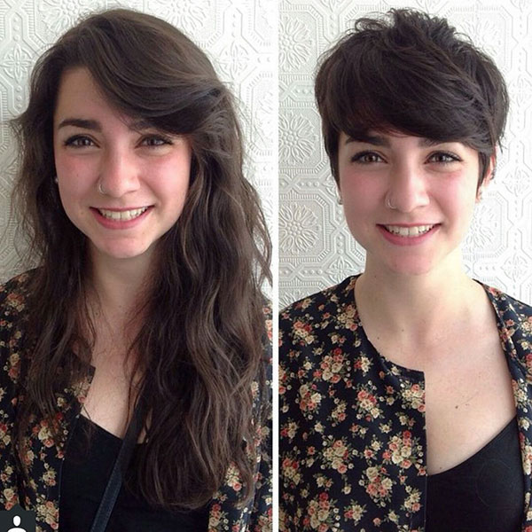 hot pixie hairstyles