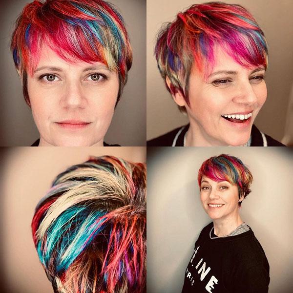 ladies short hair cuts 2021