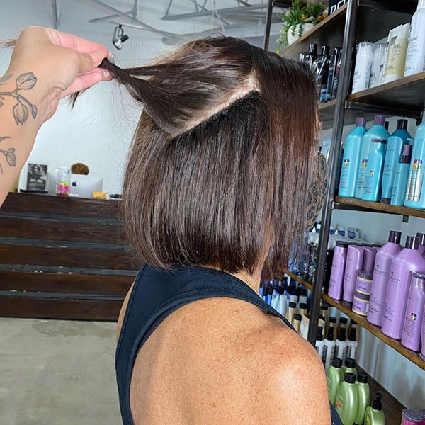 new short hairstyle for women