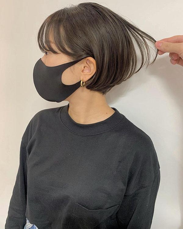 photos of short haircuts