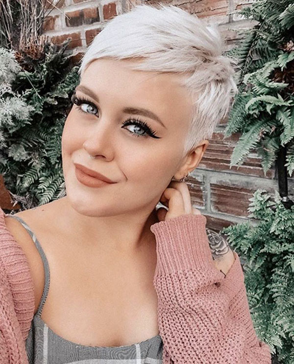 pixie cut female