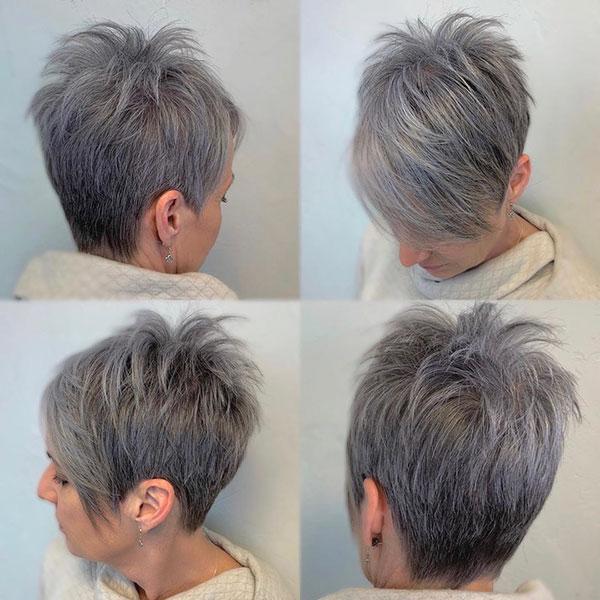pixie haircut female