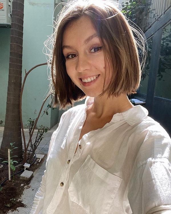 short chic haircuts
