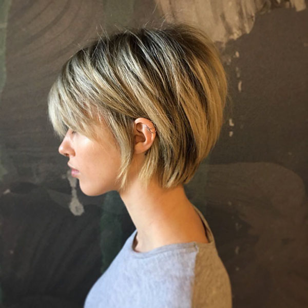 short cut hairstyles 2021 female