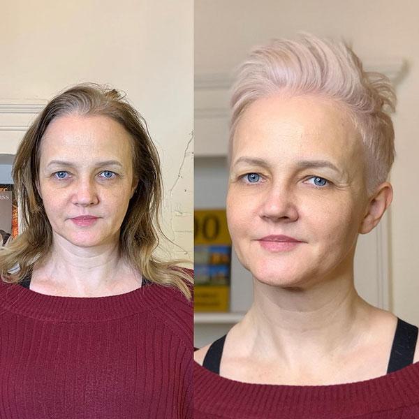 short haircuts 2021 women