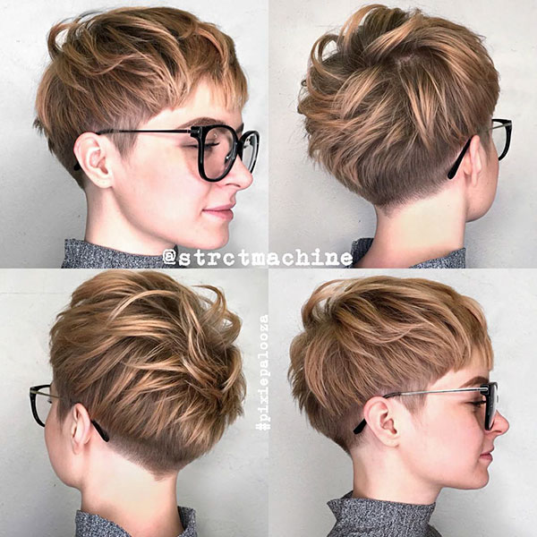 the pixie hairstyle