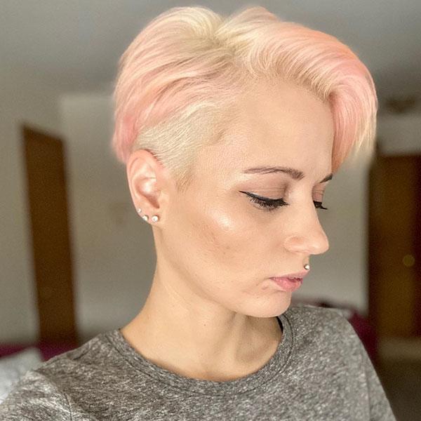 unisex pixie cut