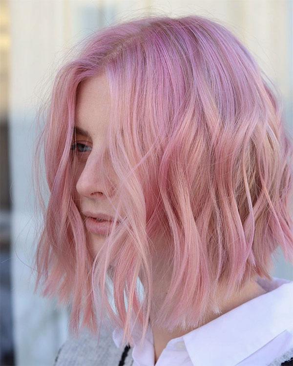 best pink hair