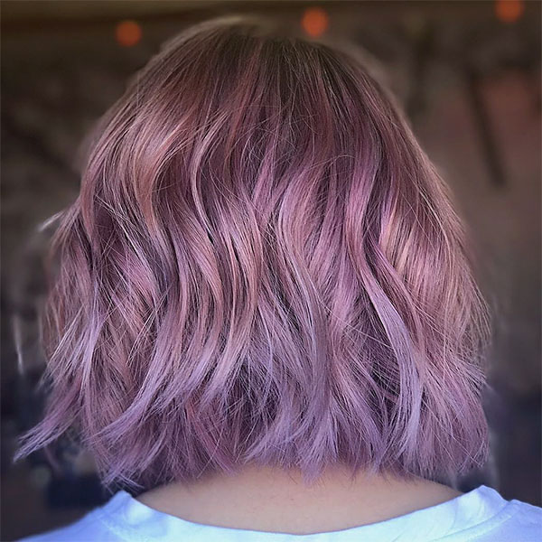 best pink hair color
