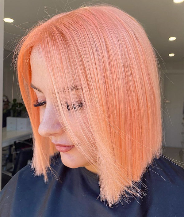 best short pink haircuts