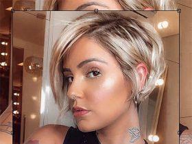 blond hair short