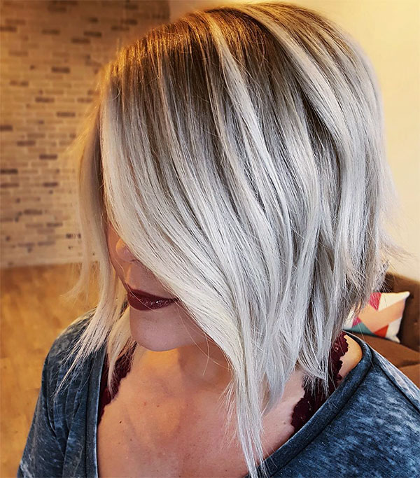 blonde hair colors and styles