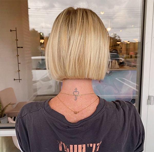 blonde hair lady