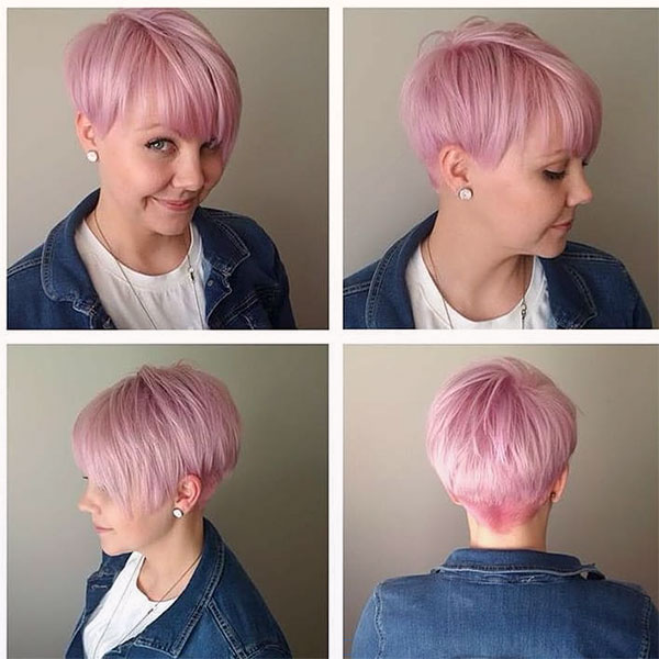 cool pink hair color