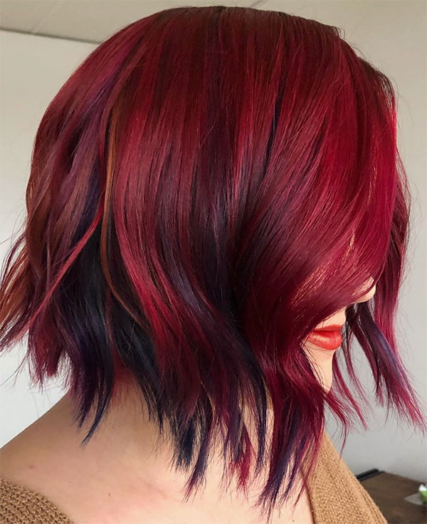 cool red hair color