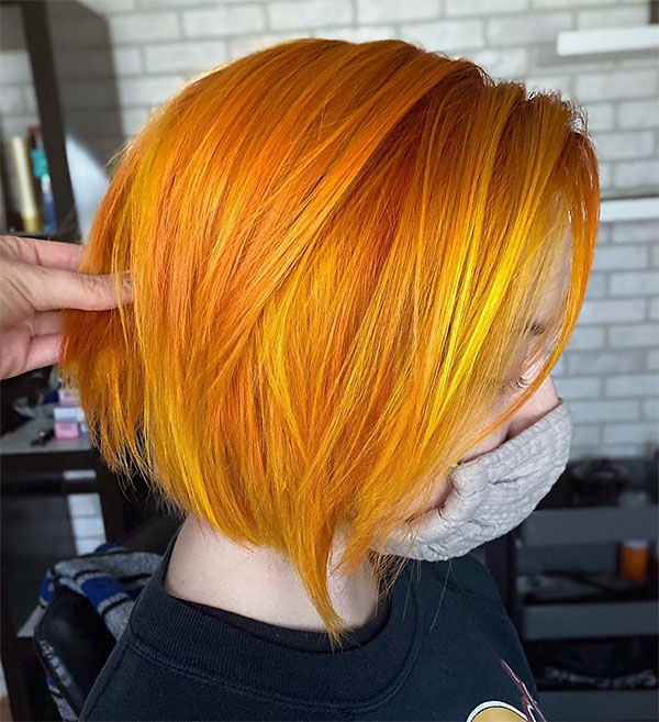 cool red hairstyles