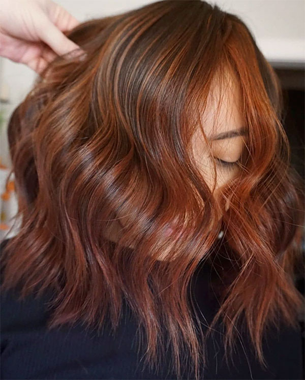 cute red hair colors