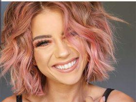 cute short haircuts pink