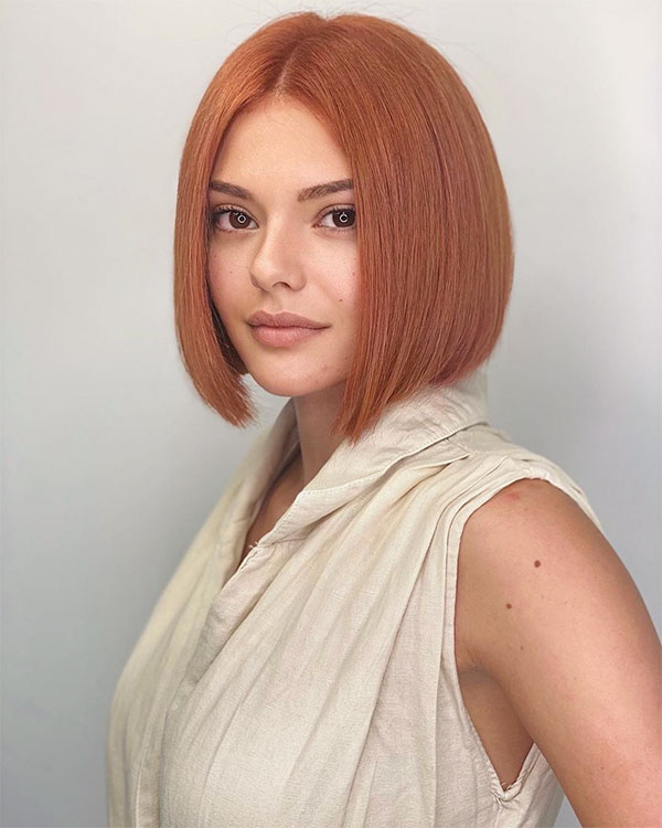 cute short red hairstyles