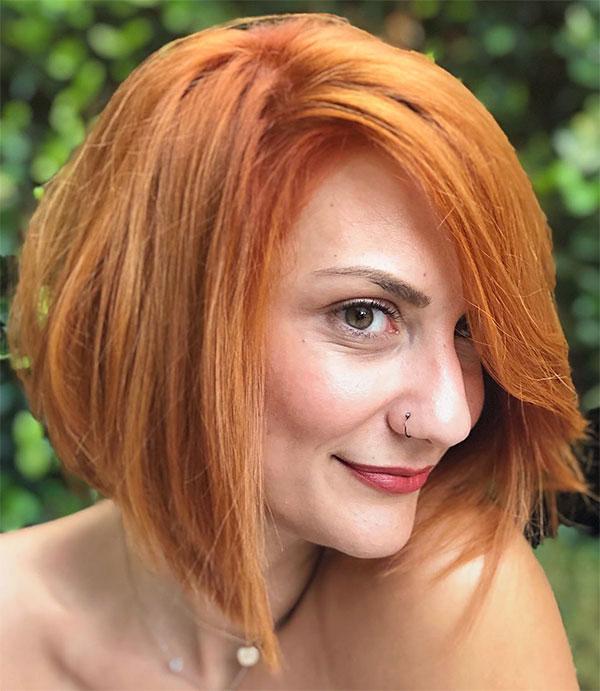 fall red hair