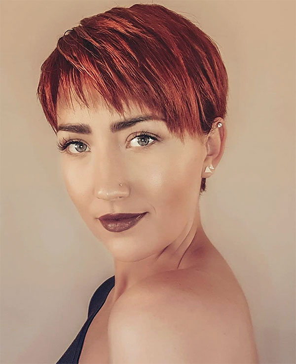fall red hair colors