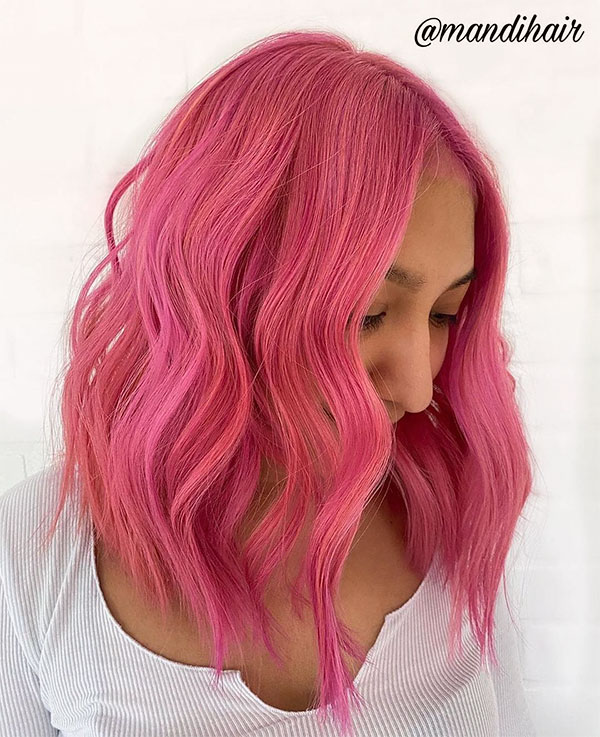 gorgeous hot pink