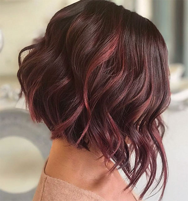 hair color ideas with red
