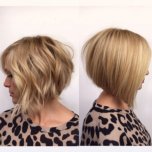 hair styles for short blonde hair
