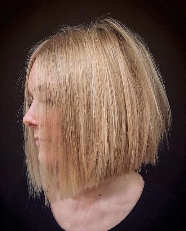 haircut blond