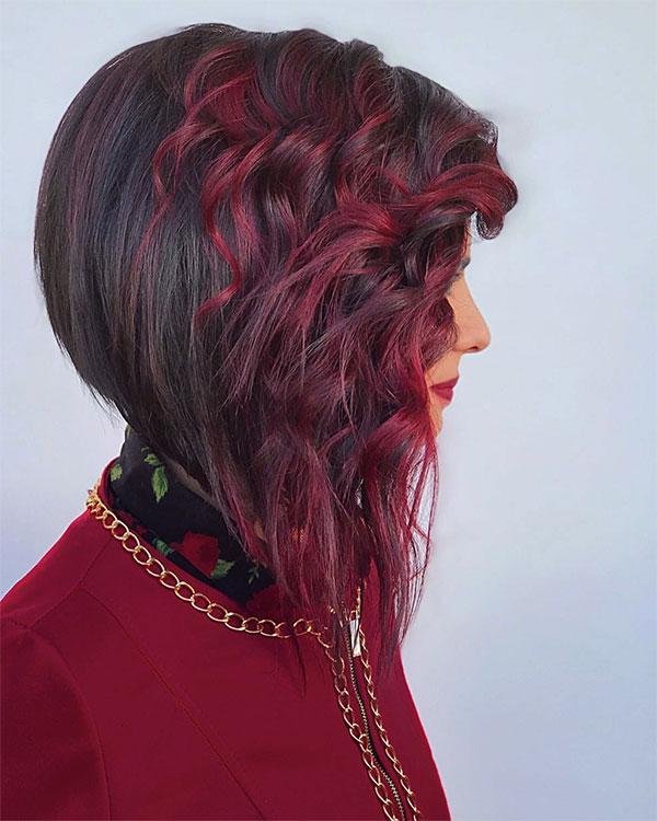 haircut red