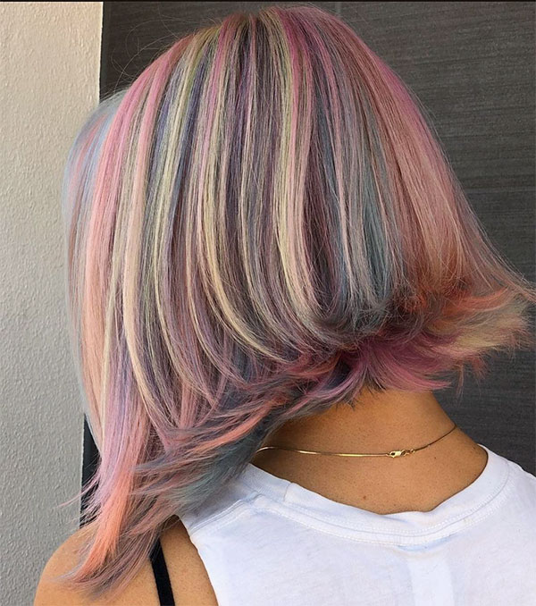 hot pink hairstyles